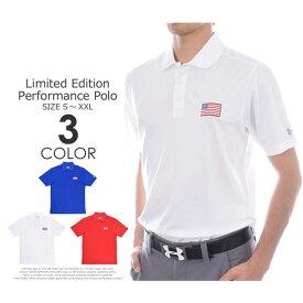 ゴルフウェア メンズ シャツ トップス ポロシャツ 春夏 おしゃれ (在庫処分)アンダーアーマー UNDER ARMOUR 厳選モデル パフォーマンス 半袖ポロシャツ 大きいサイズ USA直輸入 あす楽対応