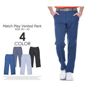 (在庫処分)ゴルフパンツ メンズ 春夏 ゴルフウェア おしゃれ (J・スピース着用モデル)アンダーアーマー UNDER ARMOUR マッチプレー ベント パンツ 大きいサイズ USA直輸入 あす楽対