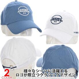 アンダーアーマー UNDER ARMOUR 帽子 メンズキャップ メンズウエア ゴルフウェア ウォッシュド コットン キャップ USA直輸入 あす楽対応