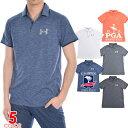 (ポイント5倍)ゴルフウェア メンズ シャツ トップス ポロシャツ 春夏 おしゃれ アンダーアーマー UNDER ARMOUR ゴ…