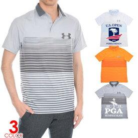 (感謝セール品)ゴルフウェア メンズ シャツ トップス ポロシャツ 春夏 おしゃれ アンダーアーマー UNDER ARMOUR ゴルフウェア メンズウェア Iso-Chill クール パワー プレー 半袖ポロシャツ 大きいサイズ USA直輸入 あす楽対応
