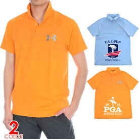 (スペシャルSale)ゴルフウェア メンズ シャツ トップス ポロシャツ 春夏 おしゃれ アンダーアーマー UNDER ARMOUR ゴルフウェア メンズウェア Iso-Chill エアリフト 半袖ポロシャツ 大きいサイズ USA直輸入 あす楽対応