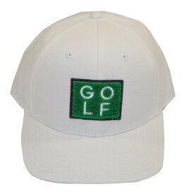 adidas 『Golf Turf Hat』 【WHITE】 GLA23-FI3076 ゴルフターフキャップ