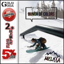 17-18 DVD snow BUNCH OF COLORS -MELISSA (htsb0269) ガールズライダー スノーボード カービング ラントリック