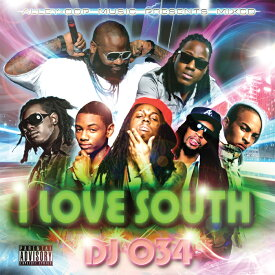 サウス ヒップホップ 98曲 MIX CD I LOVE SOUTH サウスヒップホップのみ収録 怒濤の98曲 80分