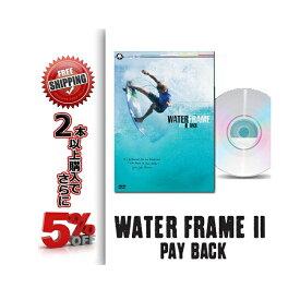 SURF DVD WATER FRAME 2 PLAY BACK ウォーター フレーム ミック・ファニング サーフィンDVD