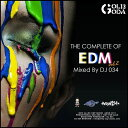 EDMをこの一枚に完全COMPLETE DJ034 MIX CD THE COMPLETE OF EDM vol.2 46曲80分ノンストップミックス 全収録曲...