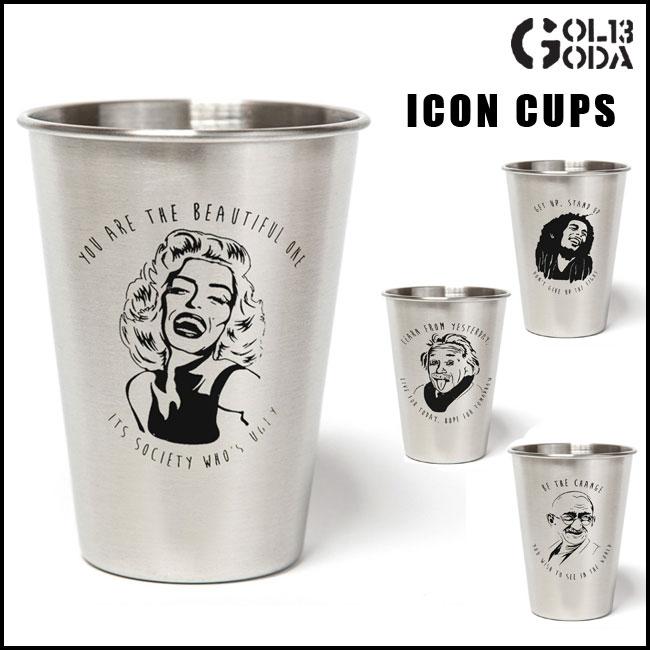 CUPS CO カップスコー ICON CUPS ステンレスカップカップスコー (5種類)カリフォルニア