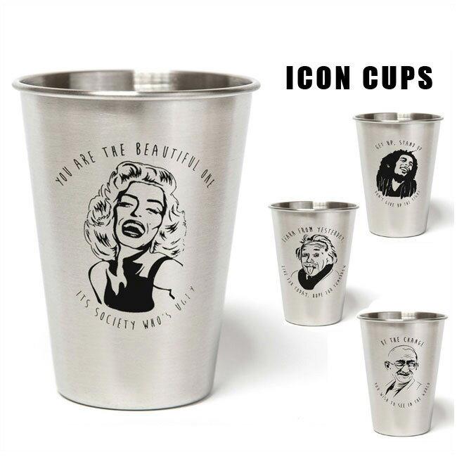 CUPS CO カップスコー ICON CUPS ステンレスカップカップスコー (5種類)カリフォルニア【店頭受取対応商品】