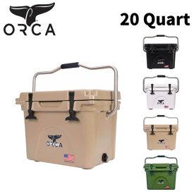 クーラーボックス ORCA オルカ Coolers 20 Quart キャンプ アウトドア【店頭受取対応商品】