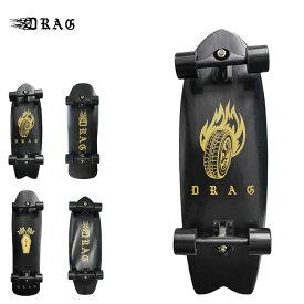 サーフスケート スケートボード DRAG SKATE BOARD スケート コンプリート 完成品
