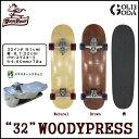 【ロングスケート】 SURF SK8 32インチ (WOODY PRESS) THRUSTER2 スラスター2 (CARVER,GRAVITYの様なトラック) ...