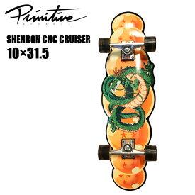 【12月1日限定ポイント5倍】プリミティブ スケートボード ドラゴンボール コンプリート PRIMITIVE SKATEBOARDING SHENRON シェンロン CNC CRUISER クルーザー デッキ