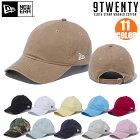 ニューエラキャップ920NEWERA9TWENTYClothStrapWashedCottonBasic帽子スナップバック