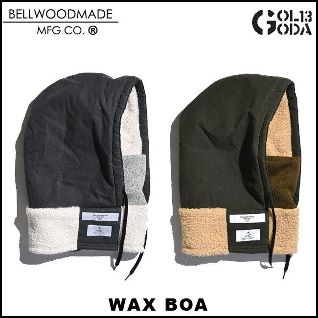 【エントリーでMAXポイント4倍】フードウォーマー BELLWOOD MADE BELLHOOD WAX BOA 防寒スノーボード スノボ スキー パーカー ネックウォーマーHOOD WARMER BELLWOOD MADE MFG CO ベル
