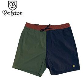 サーフトランクス BRIXTON ブリックストン VOYAGE SHORT ショートパンツ 短パン サーフパンツ 海パン メンズ 水着 ボードショーツ