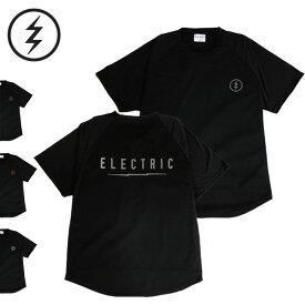 Tシャツ ドライ素材 ELECTRIC エレクトリック RAGLAN TEE / BACK PRINT 半袖TEE フィッシング 釣り サーフィン ラッシュガード