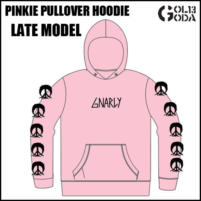 【楽天カードで+5倍Day】予約 パーカー Gnarly Clothes PINKIE PULLOVER HOODIE (2017 HOLIDAY) THIRTY TWO LASHED GNARLY ナーリー スノーボード スノボ
