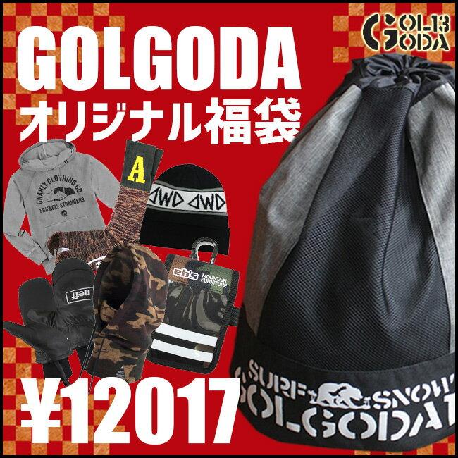 【エントリーでMAXポイント4倍】【福袋】GOLGODA 30,000円相当 パーカー Tシャツ CAP ステッカー ソックス  メンズ /レディース あす楽
