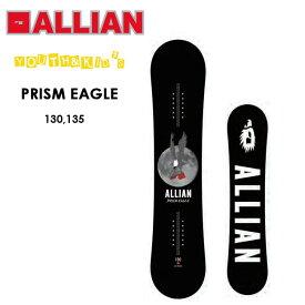 予約 アライアン スノーボード ALLIAN PRISM EAGLE 19-20 ドリームス 子供用 ツイン ユース キッズ スノボ スノボ 板【店頭受取対応商品】