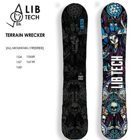 【予約】 リブテック スノーボード LIBTECH TERRAIN WRECKER 20-21 テレイン レッカー スノボ SNOWBOARD 板