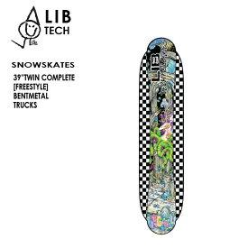 """予約 リブテック スノースケート LIBTECH SNOWSKATE 39"""" TWIN COMPLETE 20-21 コンプリート"""