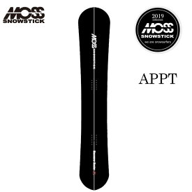 モス スノースティックMOSS SNOWSTICK APPT 166.6cm 19-20 パウダー アルペンボード モス スノースティック