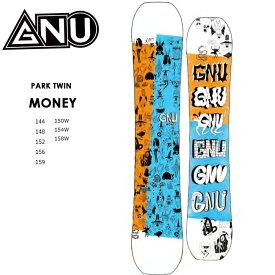 グヌー スノーボード GNU MONEY マネー 20-21 ダブルキャンバー スノボ SNOWBOARD 板