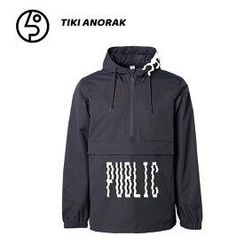 予約 パブリック スノーボード PUBLIC SNOWBOARD ANORAK 19-20 アノラック ナイロンジャケット スノボーウェア メンズ スノーボード【店頭受取対応商品】