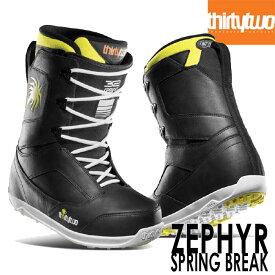 サーティーツー THIRTYTWO ZEPHYR PREMIUM SPRING BREAK 32 20-21モデル スノーボードブーツ