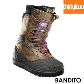 予約 サーティーツー ブーツ THIRTYTWO BANDIT x CHRISTENSON 21-22 スノーボード スノーサーフ レザー BOOTS