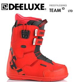【24日20:00-28日1:59限定ポイント最大32倍】ディーラックス ブーツ アイディー チーム DEELUXE ID TEAM LTD TF 20-21 BOOTS サーモインナー スノーボード フリースタイル