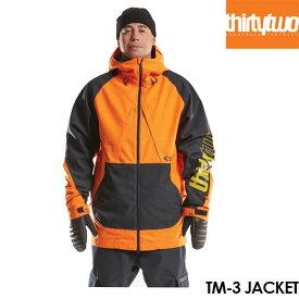 【予約】サーティーツー ジャケット THIRTYTWO TM-3 JACKET 32 21-22 アウター スノーボード ウェアー スノボ