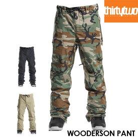 【予約】サーティーツー THIRTYTWO WOODERSON PANT 32 21-22 パンツ スノーボード ウェアー スノボ