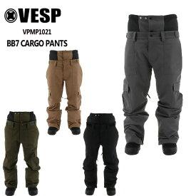 予約 べスプ VESP BB7 CARGO PANTS (VPMP1021) 21-22 パンツ スノーボード ウェアー スノボーウェア メンズ レディース