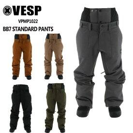 予約 べスプ VESP BB7 STANDARD PANTS(VPMP1022) 21-22 パンツ スノーボード ウェアー スノボーウェア メンズ レディース