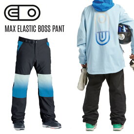 【23日20:00〜28日01:59限定ポイントト最大31.5倍】エアブラスター AIRBLASTER MAX Elastic Boss Pant 20-21 エラスティック ボス パンツ スノーボード スノボーウェア メンズ レディース