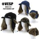 予約 べスプ 19-20モデル VESP FUR WARM CAP BBMC19-04 フライトキャップ CAP スノーボード SNOWBOARD【店頭受取対応…