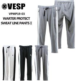予約 べスプ 19-20モデル VESP WARTER PROTECT SWEAT LINE PANTS II (VPMP19-03) パンツ スノーボード ウェアー スノボーウェア【店頭受取対応商品】