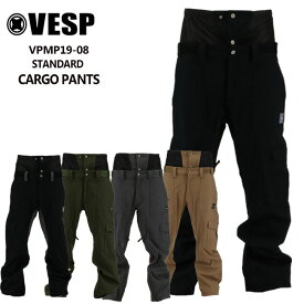 予約 べスプ 19-20モデル VESP STANDARD CARGO PANTS (VPMP19-08) パンツ スノーボード ウェアー スノボーウェア【店頭受取対応商品】