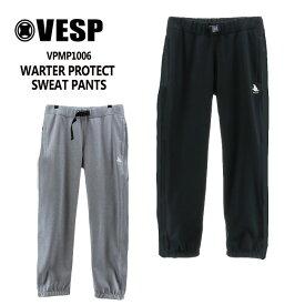 予約 べスプ VESP WARTER PROTECT SWEAT PANTS(VPMP1006) 20-21 パンツ スノーボード ウェアー スノボーウェア メンズ レディース