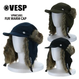 べスプ VESP FUR WARM CAP (VPMC1001) 21-22 フライトキャップ CAP スノーボード SNOWBOARD