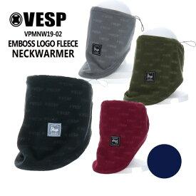 べスプ VESP EMBOSS LOGO FLEECE NECKWARMER VPMNW19-02 バラクラバ フードウォーマー MASK マスク ネックウォーマー