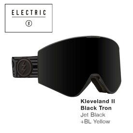 予約 ゴーグル エレクトリック ELECTRIC KLEVELAND II / BLACK TRON 21-22 クリーブランド 2 ジャパンフィット JAPAN FIT エレク ゴーグル スノボ スキー