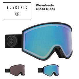 予約 ゴーグル エレクトリック ELECTRIC KLEVELAND + プラス/ GLOSS BLACK 調光レンズ 21-22 ジャパンフィット JAPAN FIT エレク ゴーグル スノボ スキー