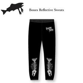 【23日20:00〜28日01:59限定ポイントト最大31.5倍】サーモンアームズ スエットパンツ SALMON ARMS BONES REFLECTIVE SWEAT PANTS 20-21 スノーボード メンズ