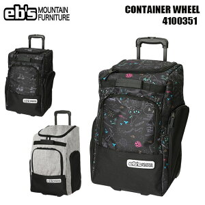 バッグ eb's エビス CONTAINER WHEEL BAG コンテナ ウイール スノーボード スノボ ブーツ ウェアー