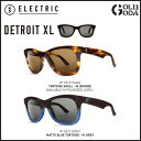 ELECTRIC DETROIT XL DEX24 TORT SHELL/M.BRONZE,M.BLUE TORT/M.GY エレクトリック サングラス Sun...