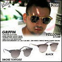 サングラス ASHBURY アシュベリー GRIFFIN(SMOKE TORTOISE,BLACK,YELLOW) 2016 SUNGLASS EYEWEAR