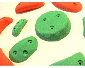 クライミングホールド 10個セット カラーが選べる トラッドスクリューオン Sサイズ カチセット(A)木ネジ付属 日本製 製造者直売 ボルダリング トレーニング ロッククライミング インテリア 子供 ポリウレタン製